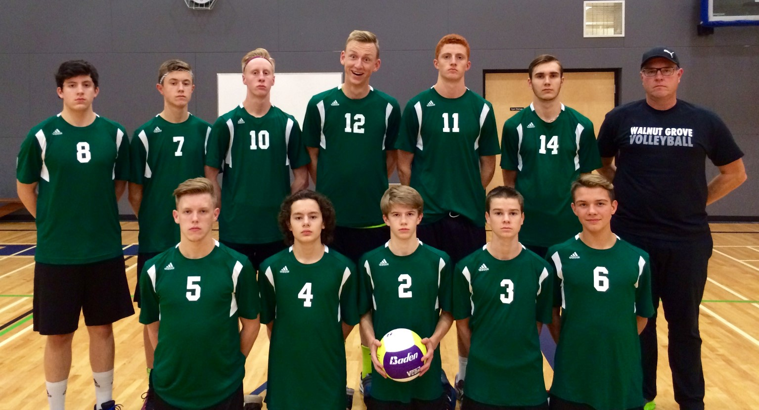 Senior Boys Volleyball Team Finishes Top 15 in The Province