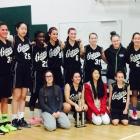 Junior Girls Basketball Team is undefeated with a 17-0 winning streak!