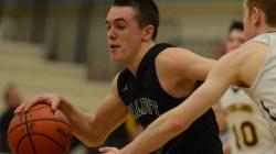 Another Hard Fought Win for Senior Boys' Basketball Team