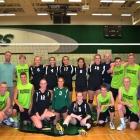 Senior Girls Volleyball Team First Home Win