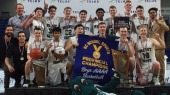 Senior Boys Basketball Team Wins Provincials & other Provincials news