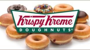 Krispy Kreme Doughnuts to Sweeten up Monday