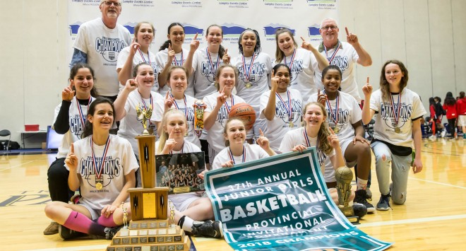 Junior Girls Are Provincial Champs and Other Provincials results
