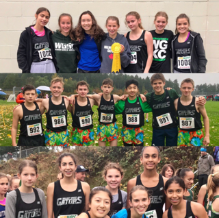 Gator Cross-Country Team Ends Season with Great Provincial Results