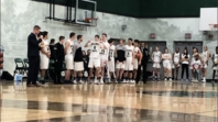 Seniors Night Bball : One to Remember