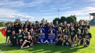Gator Nation: Track Provincial Champions!